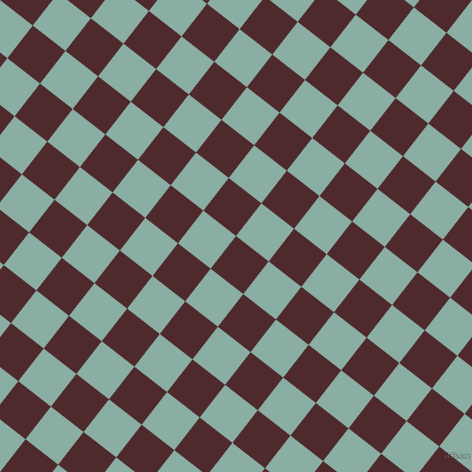 52/142 degree angle diagonal checkered chequered squares checker pattern checkers background, 59 pixel squares size, , Heath and Sea Nymph checkers chequered checkered squares seamless tileable