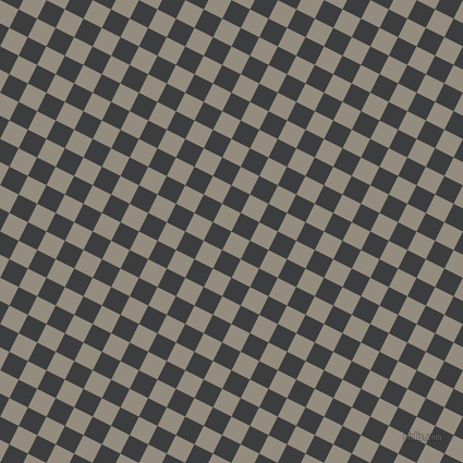 63/153 degree angle diagonal checkered chequered squares checker pattern checkers background, 19 pixel square size, , Heathered Grey and Baltic Sea checkers chequered checkered squares seamless tileable