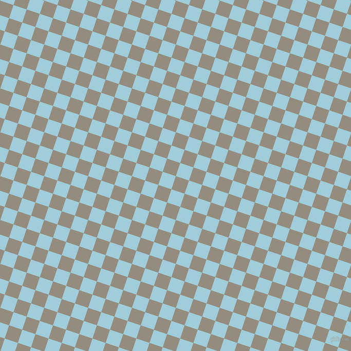 72/162 degree angle diagonal checkered chequered squares checker pattern checkers background, 27 pixel square size, , Heathered Grey and Regent St Blue checkers chequered checkered squares seamless tileable