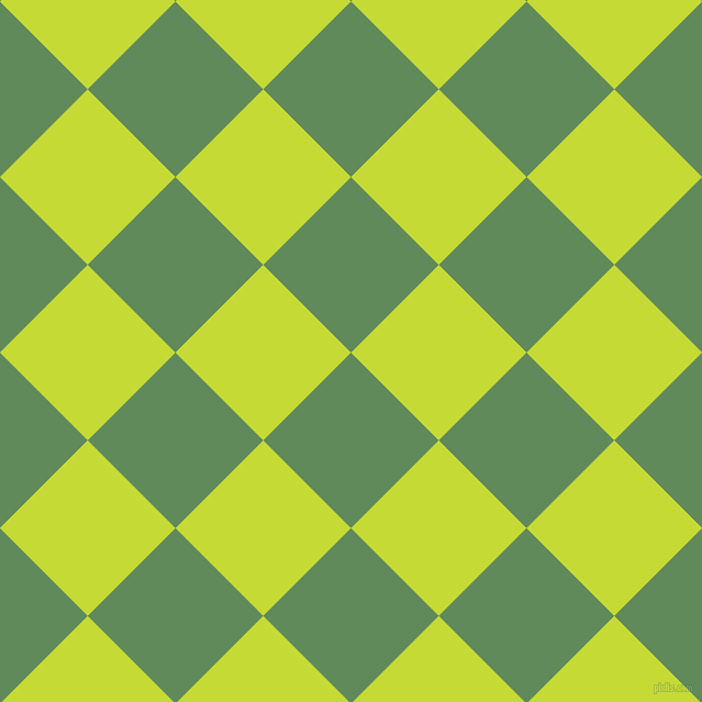 45/135 degree angle diagonal checkered chequered squares checker pattern checkers background, 113 pixel squares size, , Hippie Green and Las Palmas checkers chequered checkered squares seamless tileable