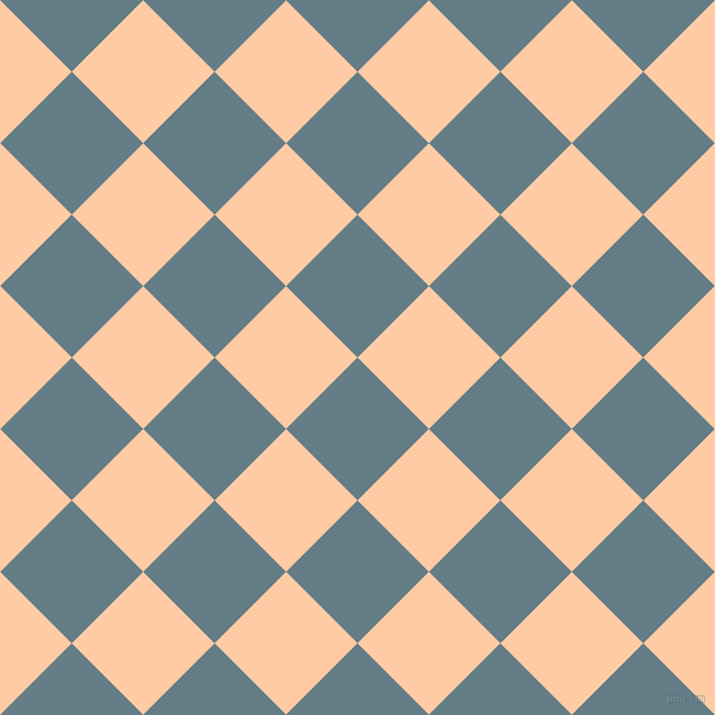 45/135 degree angle diagonal checkered chequered squares checker pattern checkers background, 92 pixel squares size, , Hoki and Peach checkers chequered checkered squares seamless tileable