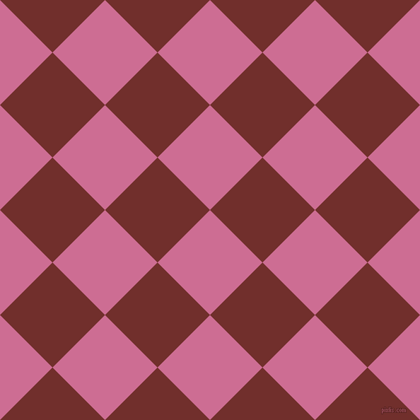 45/135 degree angle diagonal checkered chequered squares checker pattern checkers background, 105 pixel square size, , Hopbush and Auburn checkers chequered checkered squares seamless tileable