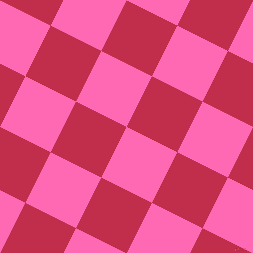 63/153 degree angle diagonal checkered chequered squares checker pattern checkers background, 183 pixel square size, , Hot Pink and Old Rose checkers chequered checkered squares seamless tileable