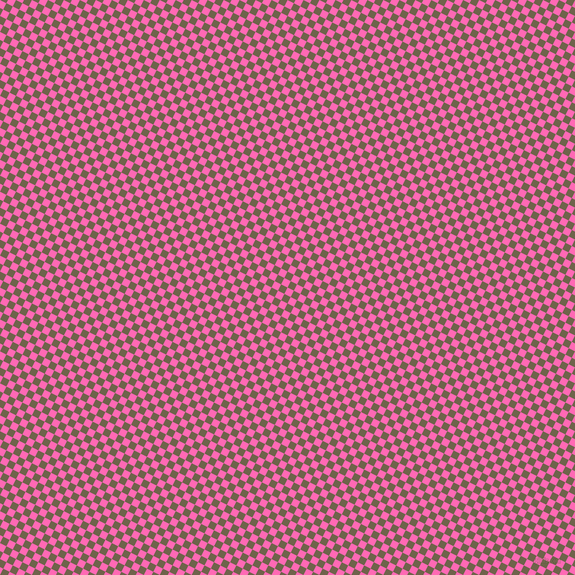 63/153 degree angle diagonal checkered chequered squares checker pattern checkers background, 10 pixel square size, , Hot Pink and Soya Bean checkers chequered checkered squares seamless tileable