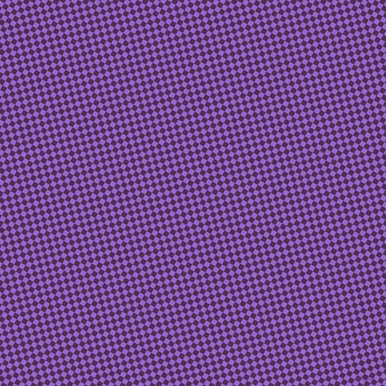 59/149 degree angle diagonal checkered chequered squares checker pattern checkers background, 10 pixel squares size, , Hot Purple and Amethyst checkers chequered checkered squares seamless tileable