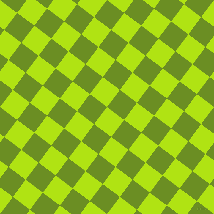 53/143 degree angle diagonal checkered chequered squares checker pattern checkers background, 72 pixel squares size, , Inch Worm and Olive Drab checkers chequered checkered squares seamless tileable