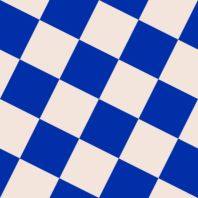 63/153 degree angle diagonal checkered chequered squares checker pattern checkers background, 180 pixel squares size, , International Klein Blue and Fair Pink checkers chequered checkered squares seamless tileable