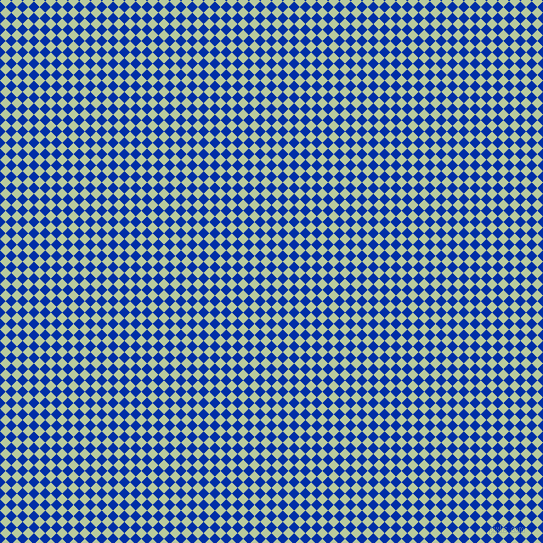 45/135 degree angle diagonal checkered chequered squares checker pattern checkers background, 8 pixel square size, , International Klein Blue and Sprout checkers chequered checkered squares seamless tileable