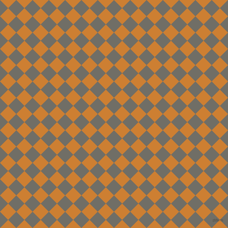 45/135 degree angle diagonal checkered chequered squares checker pattern checkers background, 40 pixel square size, , Ironside Grey and Bronze checkers chequered checkered squares seamless tileable