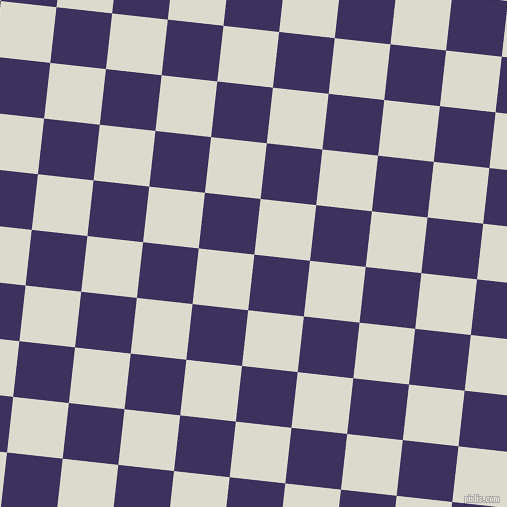 84/174 degree angle diagonal checkered chequered squares checker pattern checkers background, 56 pixel square size, , Jacarta and Milk White checkers chequered checkered squares seamless tileable
