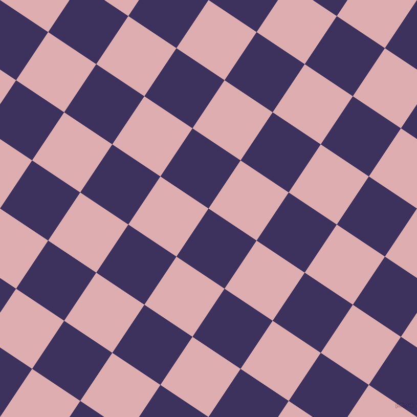 56/146 degree angle diagonal checkered chequered squares checker pattern checkers background, 113 pixel square size, , Jacarta and Pale Chestnut checkers chequered checkered squares seamless tileable