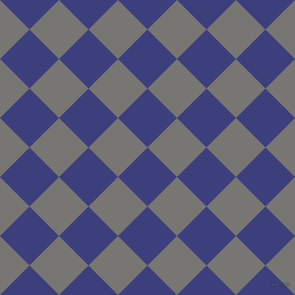 45/135 degree angle diagonal checkered chequered squares checker pattern checkers background, 82 pixel squares size, , Jacksons Purple and Dove Grey checkers chequered checkered squares seamless tileable