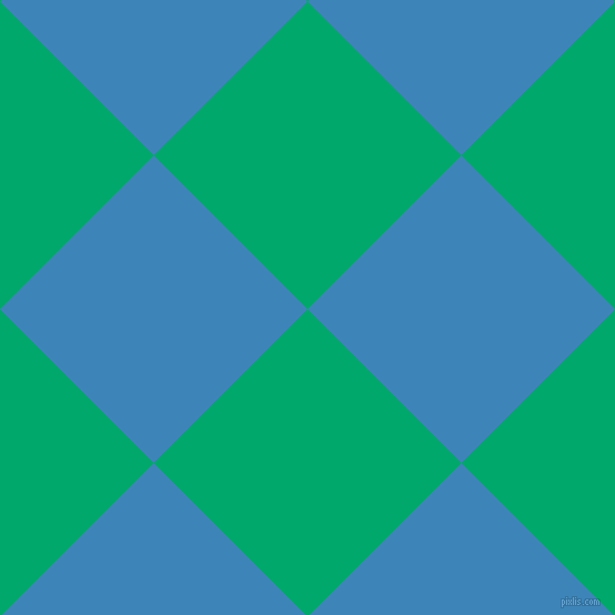 45/135 degree angle diagonal checkered chequered squares checker pattern checkers background, 196 pixel squares size, Jade and Curious Blue checkers chequered checkered squares seamless tileable