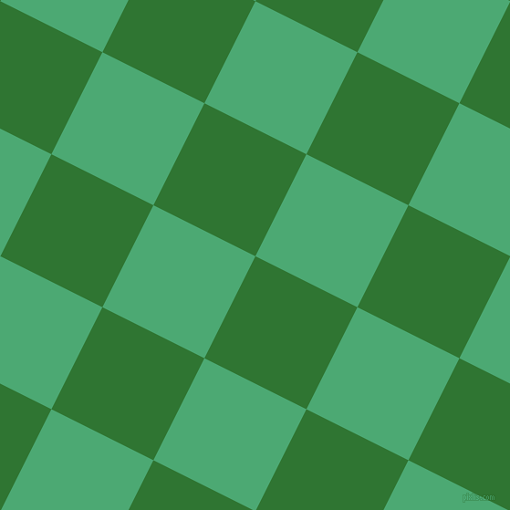 63/153 degree angle diagonal checkered chequered squares checker pattern checkers background, 125 pixel squares size, , Japanese Laurel and Ocean Green checkers chequered checkered squares seamless tileable