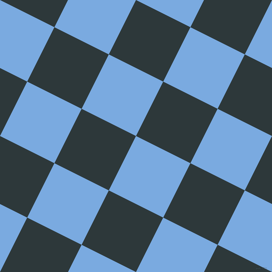 63/153 degree angle diagonal checkered chequered squares checker pattern checkers background, 199 pixel squares size, , Jordy Blue and Outer Space checkers chequered checkered squares seamless tileable