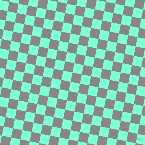 79/169 degree angle diagonal checkered chequered squares checker pattern checkers background, 33 pixel squares size, , Jumbo and Aquamarine checkers chequered checkered squares seamless tileable