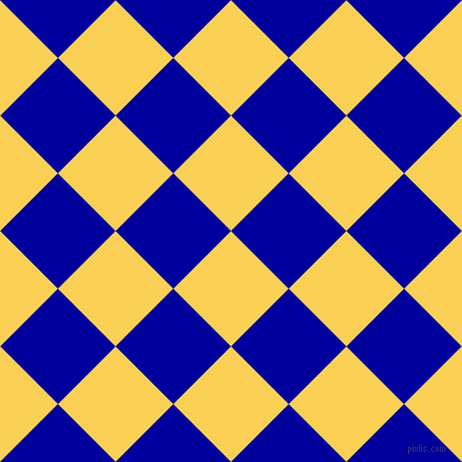45/135 degree angle diagonal checkered chequered squares checker pattern checkers background, 74 pixel squares size, , Kournikova and New Midnight Blue checkers chequered checkered squares seamless tileable