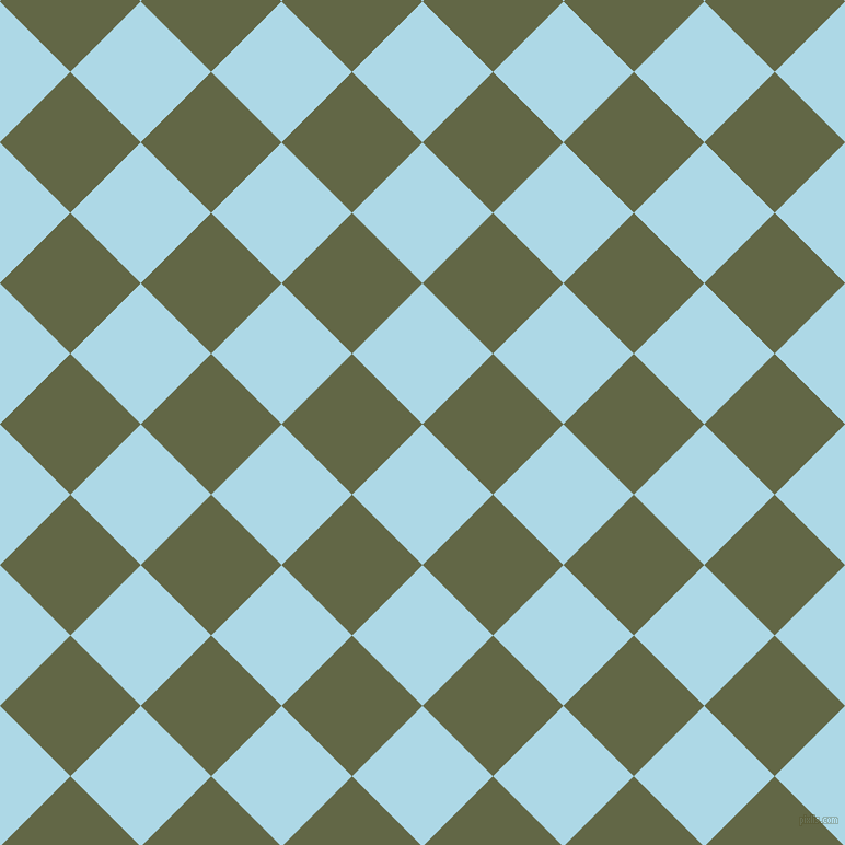 45/135 degree angle diagonal checkered chequered squares checker pattern checkers background, 91 pixel squares size, , Light Blue and Woodland checkers chequered checkered squares seamless tileable