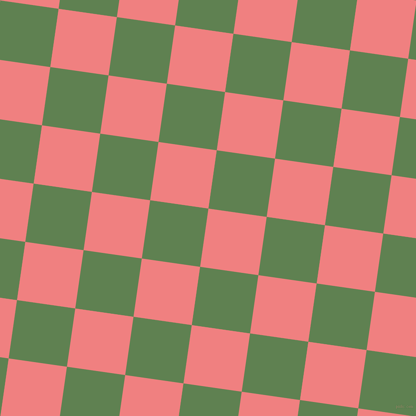 82/172 degree angle diagonal checkered chequered squares checker pattern checkers background, 118 pixel square size, , Light Coral and Glade Green checkers chequered checkered squares seamless tileable