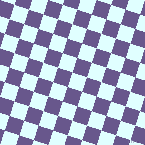72/162 degree angle diagonal checkered chequered squares checker pattern checkers background, 49 pixel squares size, , Light Cyan and Butterfly Bush checkers chequered checkered squares seamless tileable