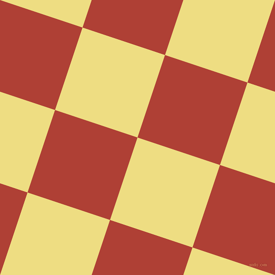 72/162 degree angle diagonal checkered chequered squares checker pattern checkers background, 171 pixel squares size, , Light Goldenrod and Medium Carmine checkers chequered checkered squares seamless tileable