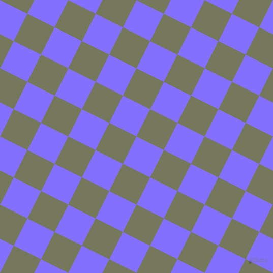 63/153 degree angle diagonal checkered chequered squares checker pattern checkers background, 60 pixel square size, , Light Slate Blue and Finch checkers chequered checkered squares seamless tileable