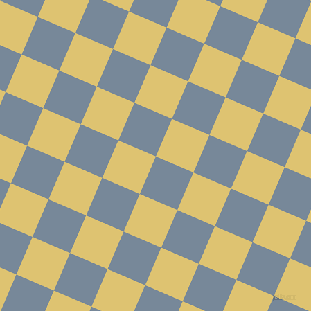 67/157 degree angle diagonal checkered chequered squares checker pattern checkers background, 59 pixel square size, , Light Slate Grey and Chenin checkers chequered checkered squares seamless tileable