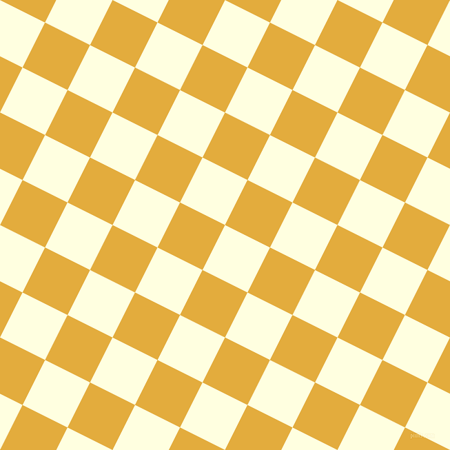 63/153 degree angle diagonal checkered chequered squares checker pattern checkers background, 73 pixel square size, , Light Yellow and Tulip Tree checkers chequered checkered squares seamless tileable