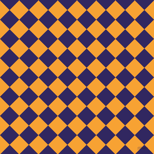 45/135 degree angle diagonal checkered chequered squares checker pattern checkers background, 48 pixel squares size, , Lightning Yellow and Paris M checkers chequered checkered squares seamless tileable
