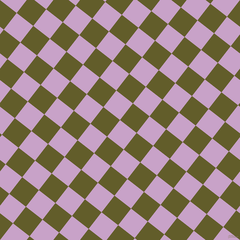 52/142 degree angle diagonal checkered chequered squares checker pattern checkers background, 71 pixel squares size, , Lilac and Costa Del Sol checkers chequered checkered squares seamless tileable