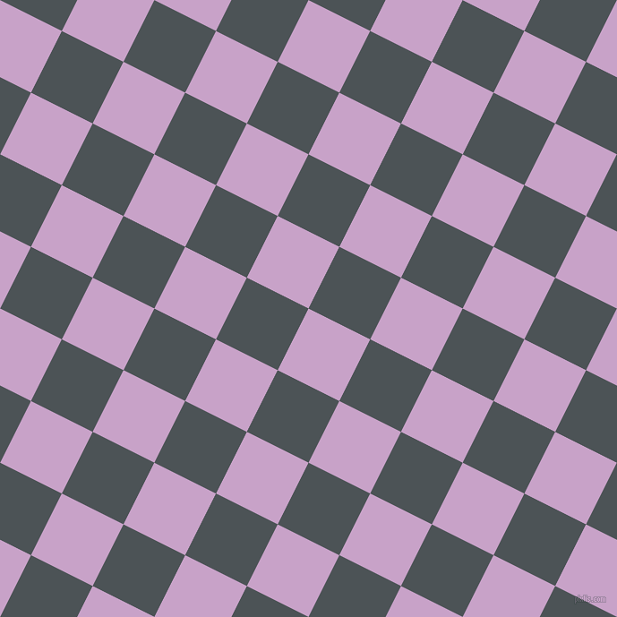 63/153 degree angle diagonal checkered chequered squares checker pattern checkers background, 77 pixel square size, , Lilac and Trout checkers chequered checkered squares seamless tileable