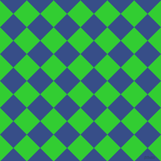 Lime green and tory blue checkers chequered checkered for Lime and blue