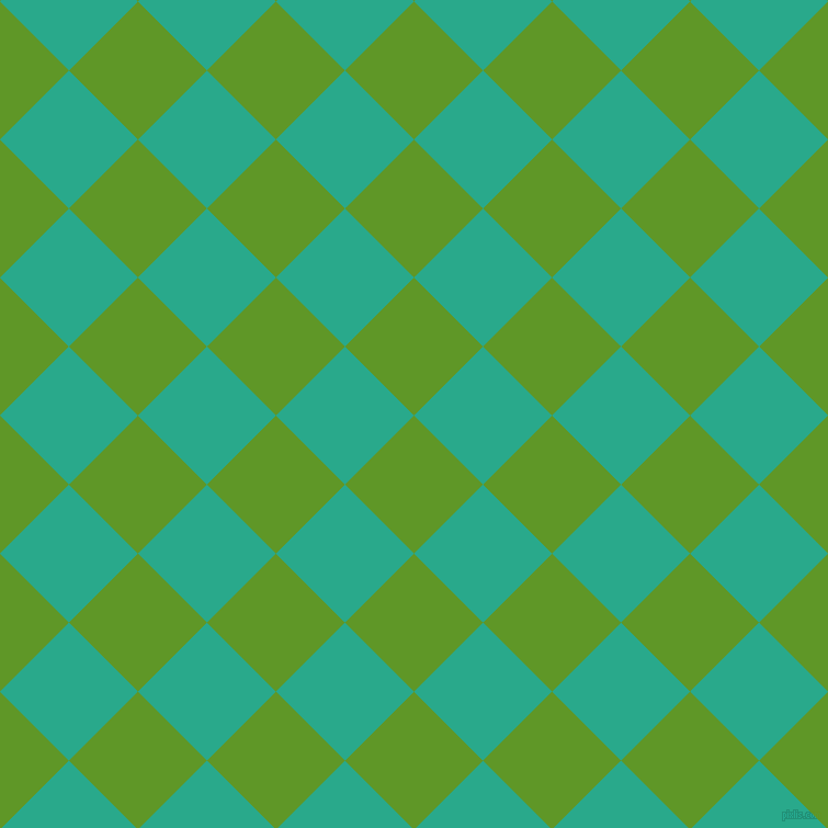 45/135 degree angle diagonal checkered chequered squares checker pattern checkers background, 89 pixel squares size, , Limeade and Niagara checkers chequered checkered squares seamless tileable