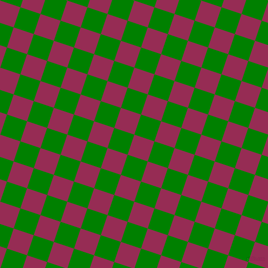 72/162 degree angle diagonal checkered chequered squares checker pattern checkers background, 42 pixel square size, , Lipstick and Green checkers chequered checkered squares seamless tileable