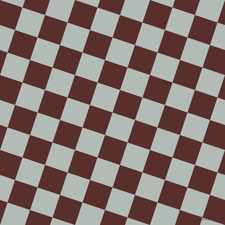 72/162 degree angle diagonal checkered chequered squares checker pattern checkers background, 47 pixel squares size, , Loblolly and Moccaccino checkers chequered checkered squares seamless tileable