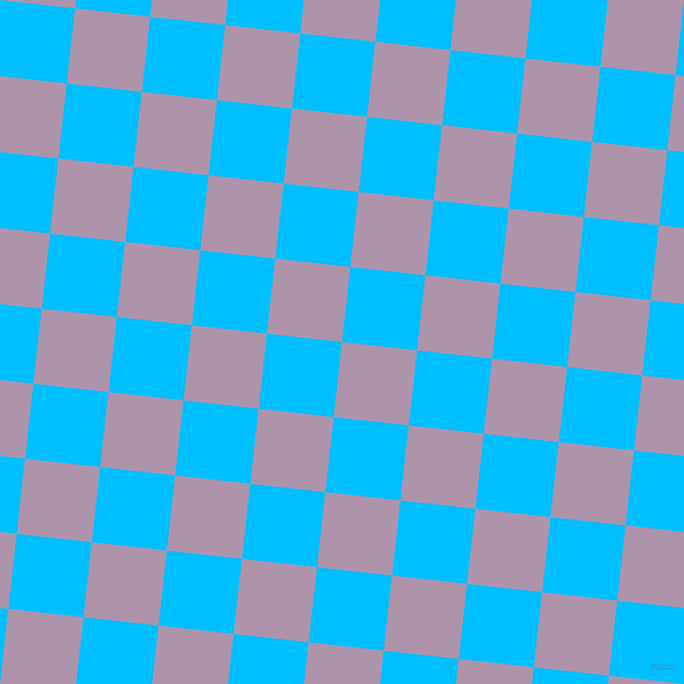 84/174 degree angle diagonal checkered chequered squares checker pattern checkers background, 106 pixel square size, , London Hue and Deep Sky Blue checkers chequered checkered squares seamless tileable