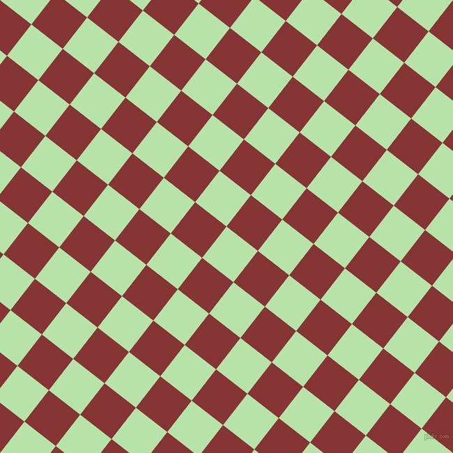 52/142 degree angle diagonal checkered chequered squares checker pattern checkers background, 57 pixel squares size, , Madang and Tall Poppy checkers chequered checkered squares seamless tileable