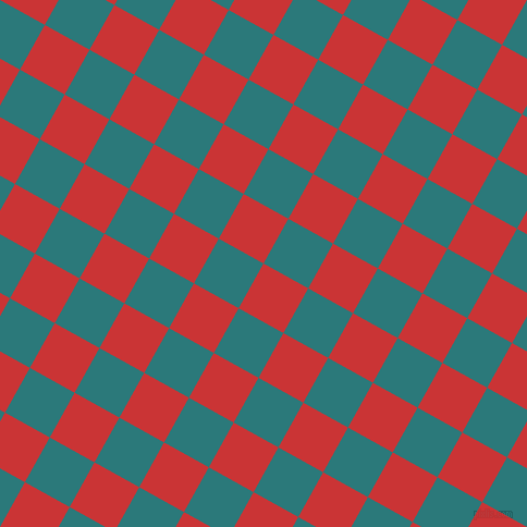 61/151 degree angle diagonal checkered chequered squares checker pattern checkers background, 47 pixel square size, , Mahogany and Atoll checkers chequered checkered squares seamless tileable