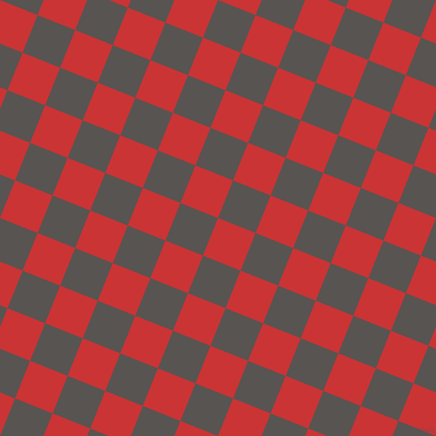 68/158 degree angle diagonal checkered chequered squares checker pattern checkers background, 83 pixel squares size, , Mahogany and Tundora checkers chequered checkered squares seamless tileable
