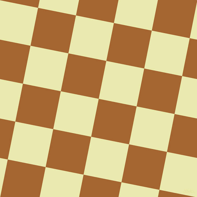 79/169 degree angle diagonal checkered chequered squares checker pattern checkers background, 136 pixel square size, , Mai Tai and Medium Goldenrod checkers chequered checkered squares seamless tileable