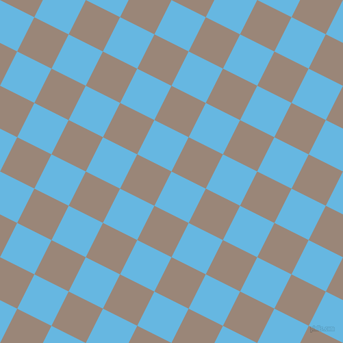 63/153 degree angle diagonal checkered chequered squares checker pattern checkers background, 56 pixel squares size, , Malibu and Almond Frost checkers chequered checkered squares seamless tileable