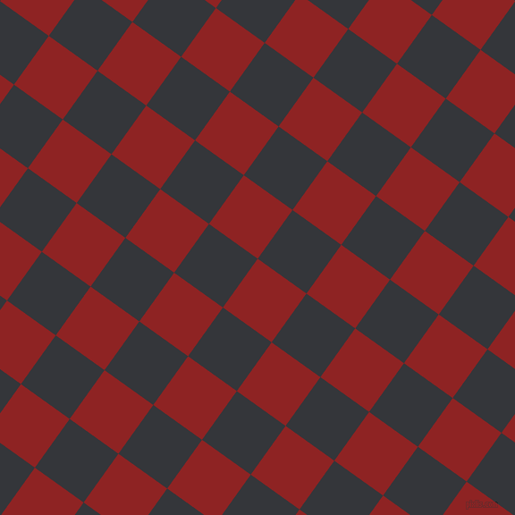 54/144 degree angle diagonal checkered chequered squares checker pattern checkers background, 67 pixel square size, , Mandarian Orange and Shark checkers chequered checkered squares seamless tileable