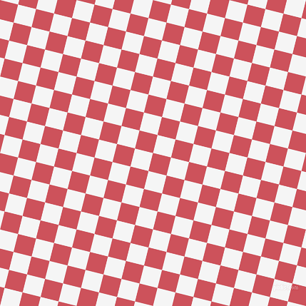76/166 degree angle diagonal checkered chequered squares checker pattern checkers background, 26 pixel square size, , Mandy and White Smoke checkers chequered checkered squares seamless tileable