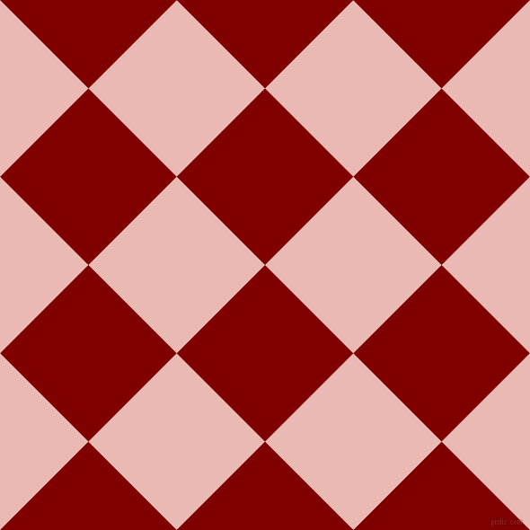 45/135 degree angle diagonal checkered chequered squares checker pattern checkers background, 139 pixel square size, , Maroon and Beauty Bush checkers chequered checkered squares seamless tileable