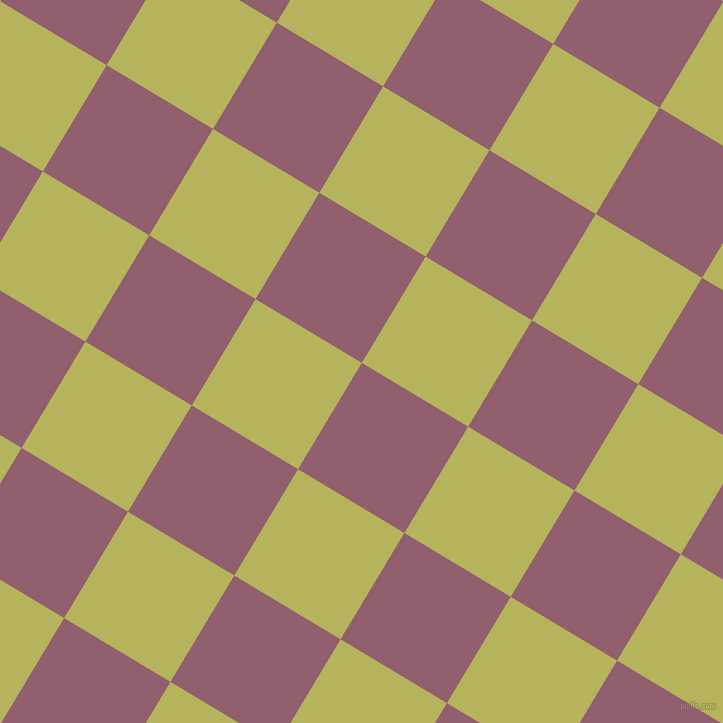 59/149 degree angle diagonal checkered chequered squares checker pattern checkers background, 124 pixel squares size, , Mauve Taupe and Olive Green checkers chequered checkered squares seamless tileable