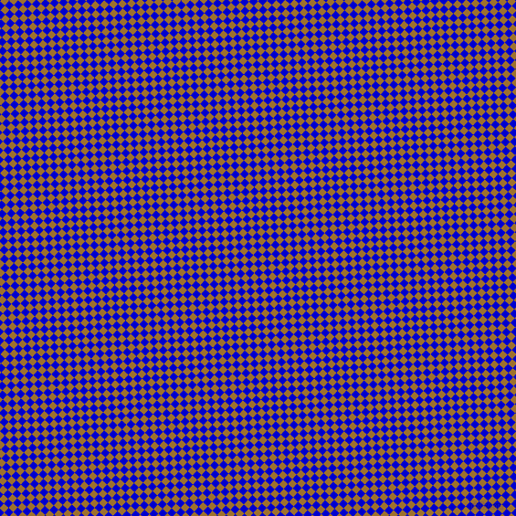 48/138 degree angle diagonal checkered chequered squares checker pattern checkers background, 7 pixel squares size, , Medium Blue and Buttered Rum checkers chequered checkered squares seamless tileable