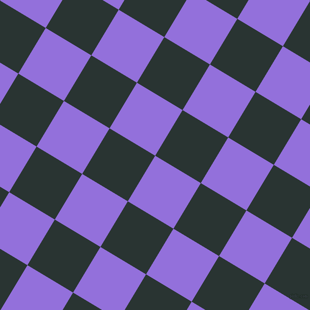59/149 degree angle diagonal checkered chequered squares checker pattern checkers background, 104 pixel squares size, , Medium Purple and Aztec checkers chequered checkered squares seamless tileable