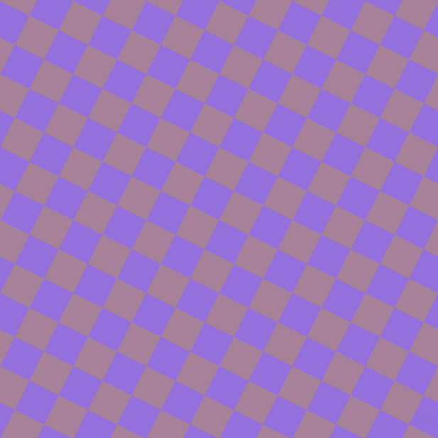 63/153 degree angle diagonal checkered chequered squares checker pattern checkers background, 46 pixel square size, , Medium Purple and Bouquet checkers chequered checkered squares seamless tileable