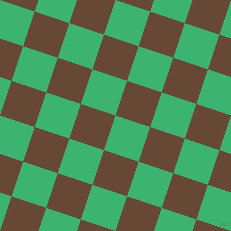 72/162 degree angle diagonal checkered chequered squares checker pattern checkers background, 126 pixel square size, , Medium Sea Green and Jambalaya checkers chequered checkered squares seamless tileable