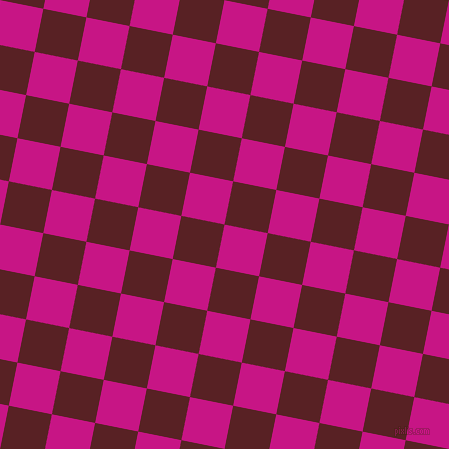 79/169 degree angle diagonal checkered chequered squares checker pattern checkers background, 44 pixel square size, , Medium Violet Red and Burnt Crimson checkers chequered checkered squares seamless tileable
